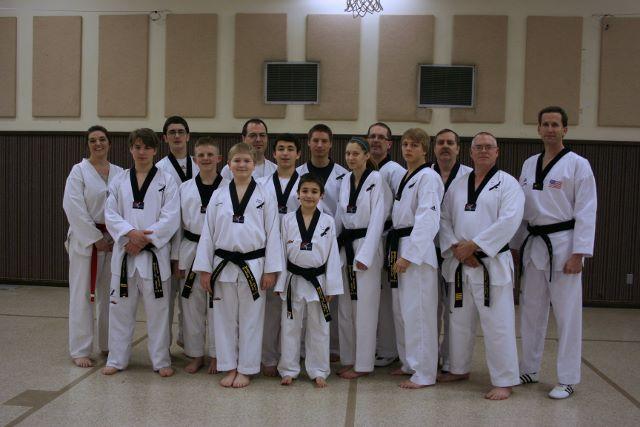 Cooley Poomsae Seminar Black Belts (640x427)